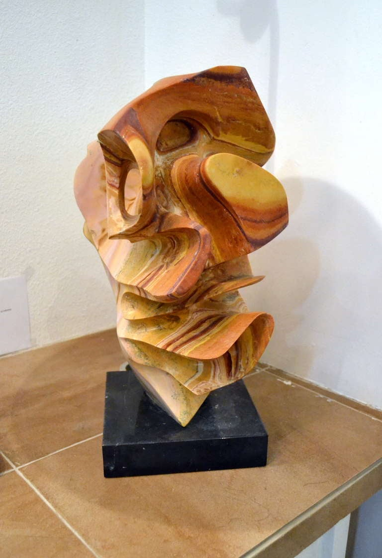 Abstract stone sculpture at stdibs