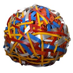 Multi-color Aluminum Ball by Paulden Evans