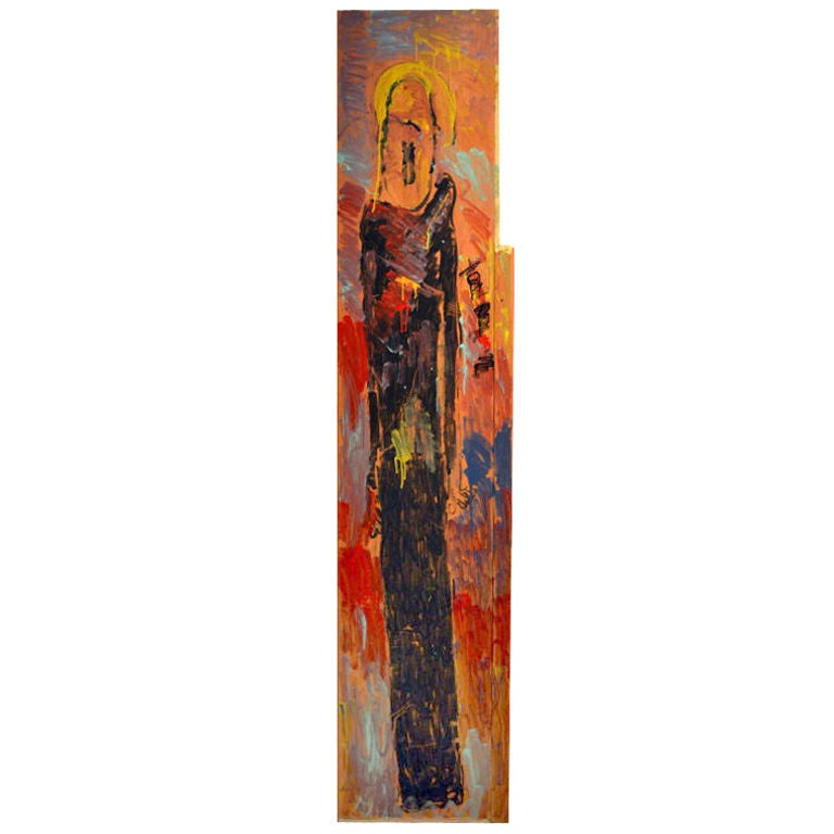 8 Ft. High Full-Figured Angel by Purvis Young