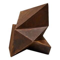Geometric Abstract Steel Sculpture by Artist: Scott Donadio