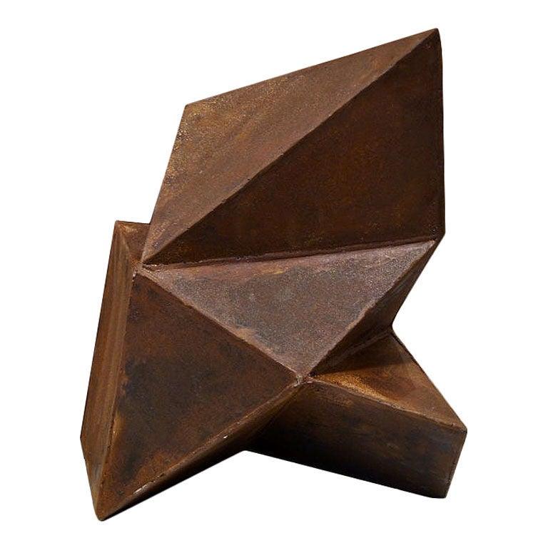 Geometric Abstract Steel Sculpture By Artist Scott Donadio At 1stdibs