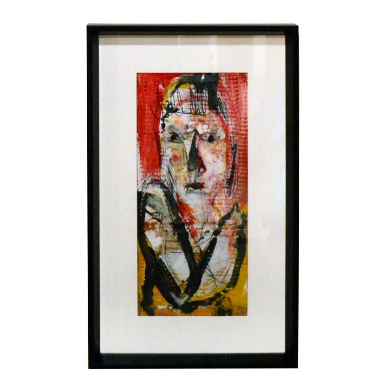 Abstract Female Portrait by Jim Bloom