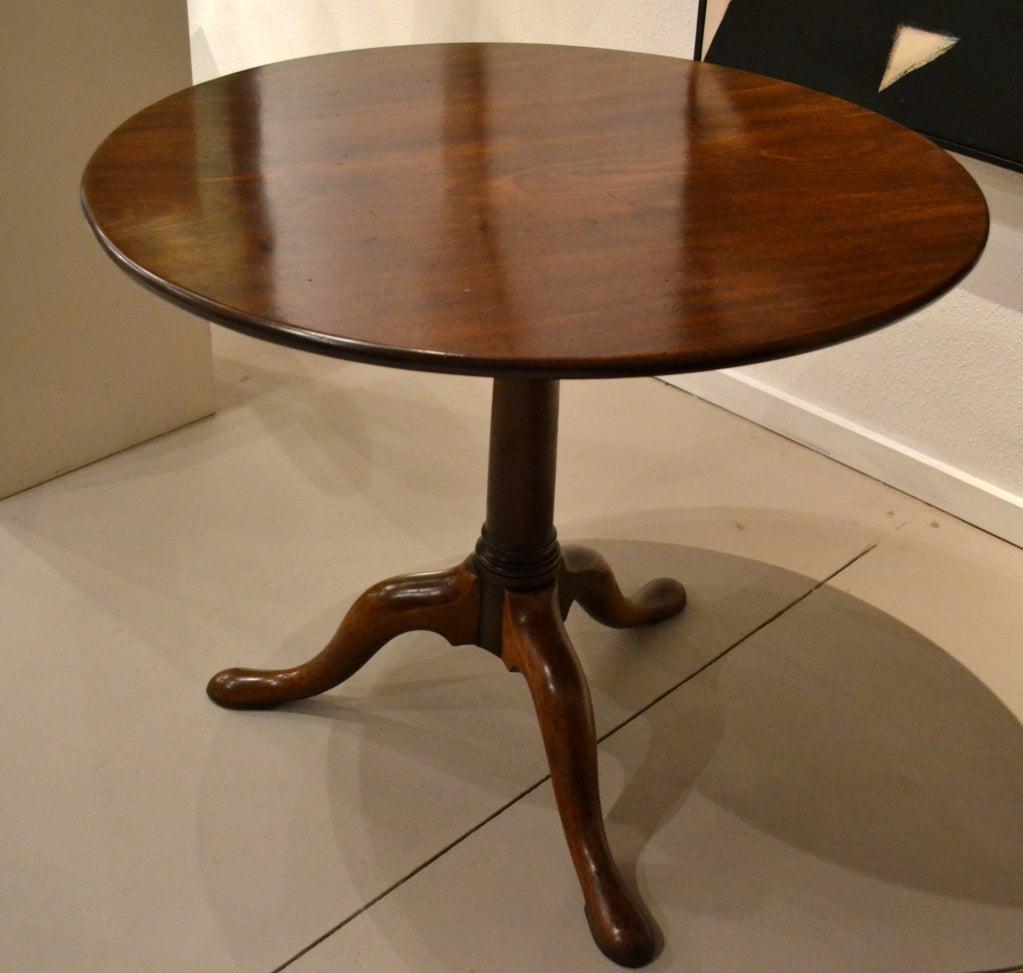 Antique Georgian Tilt Top Circular Table At 1stdibs