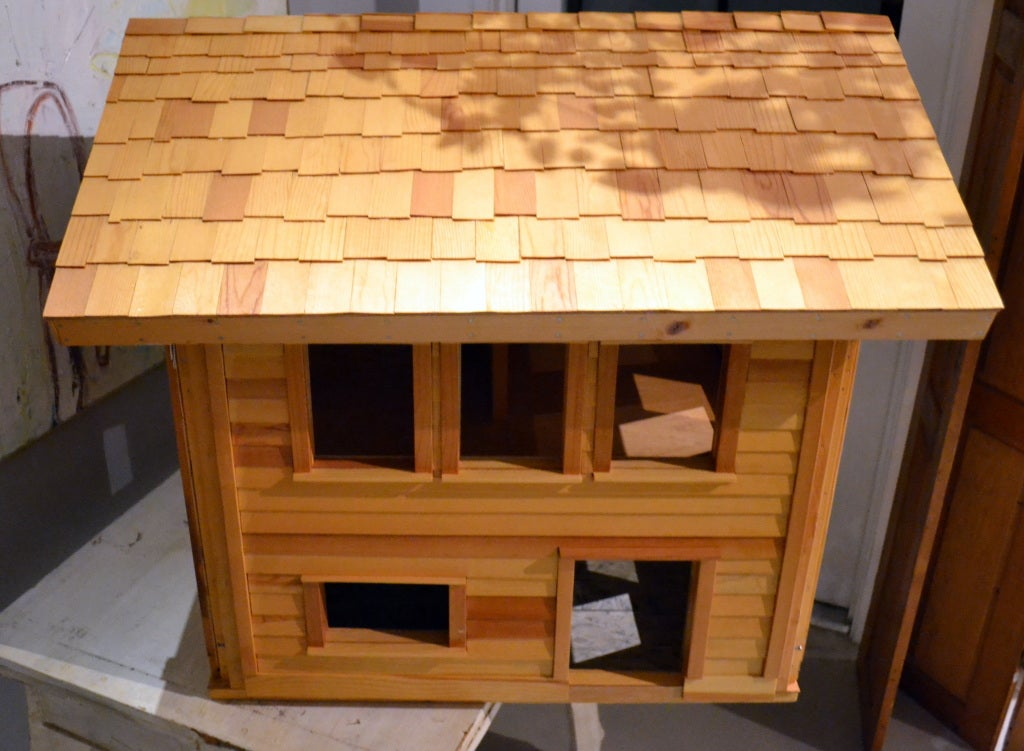 Architectural model 2 story wood house for sale at 1stdibs for Architecture models for sale