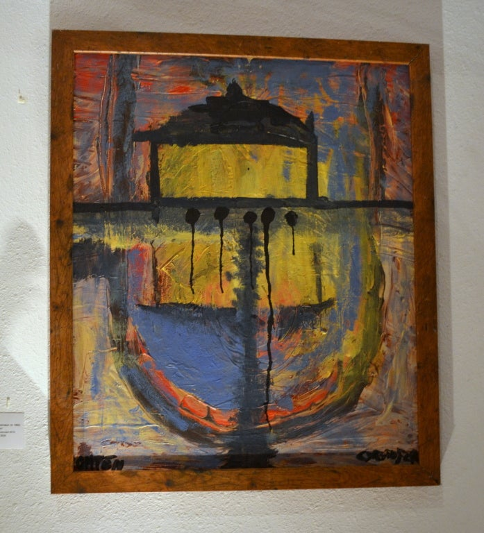 American Abstract Impressionist Painting by Christopher Shoemaker For Sale