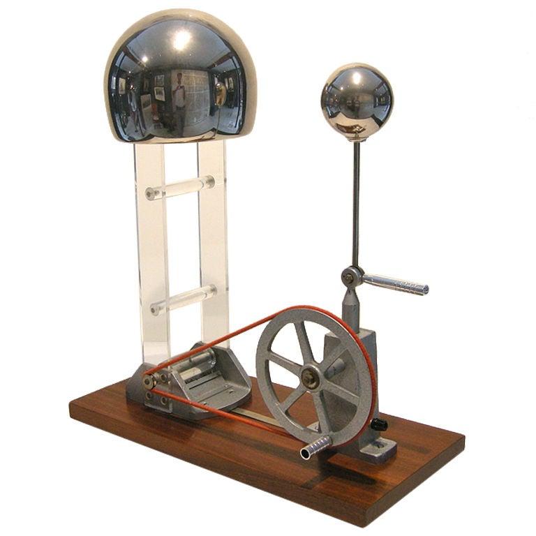 Van De Graaff Generator By Philip Harris England At 1stdibs