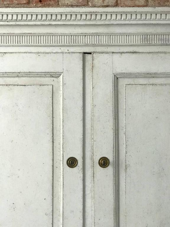 Swedish Gustavian Three Parts Secreter, Circa 1785 8