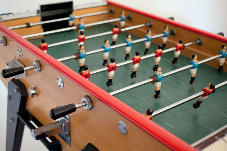 French Vintage Rene Pierre Foosball Table At 1stdibs