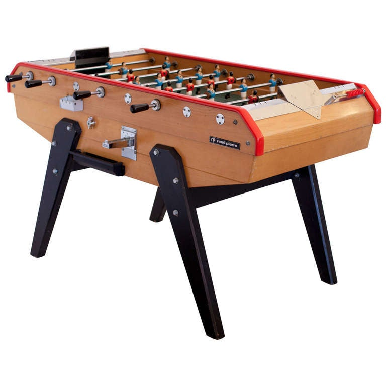 french vintage rene pierre foosball table 1 - Foosball Table For Sale