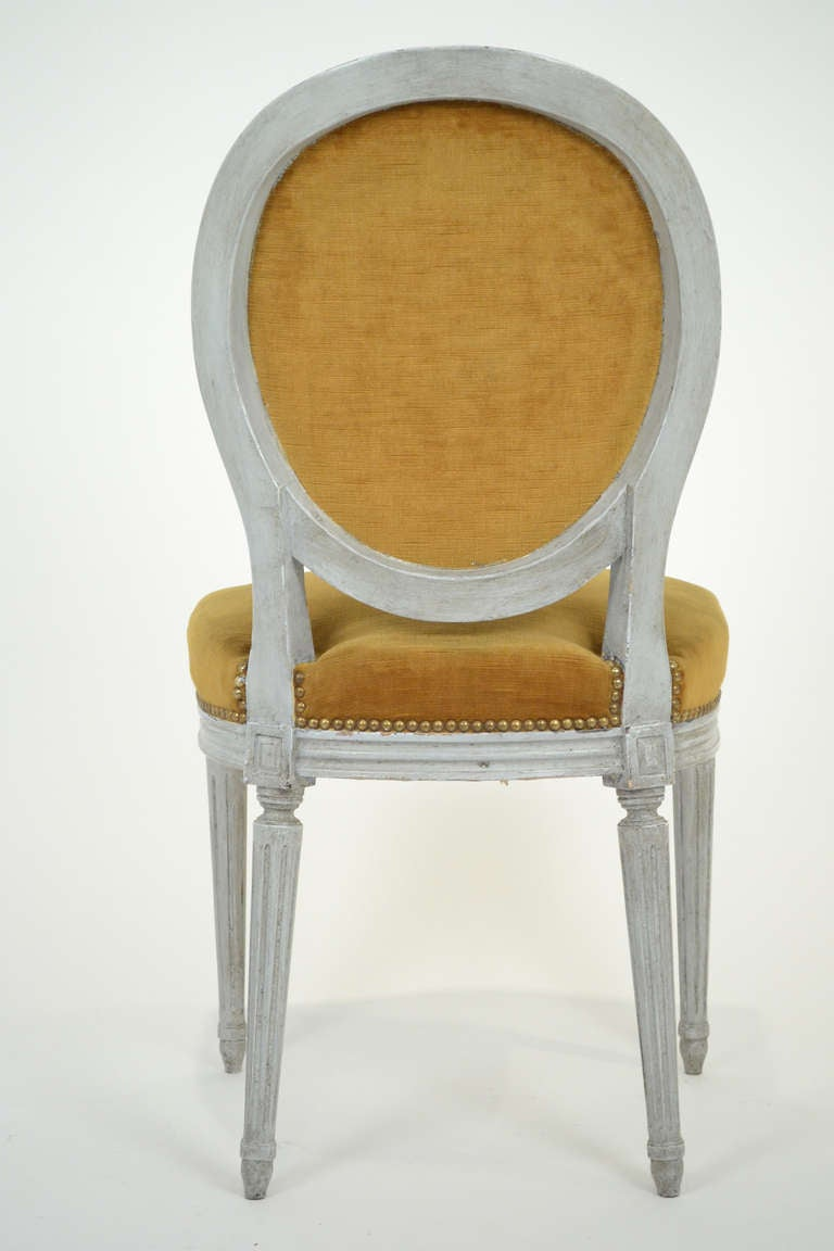 Louis XVI Style Set of 6 Dining Chairs at 1stdibs