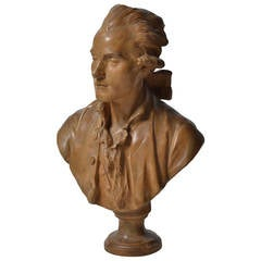 French 19th Century Bust of a Gentleman