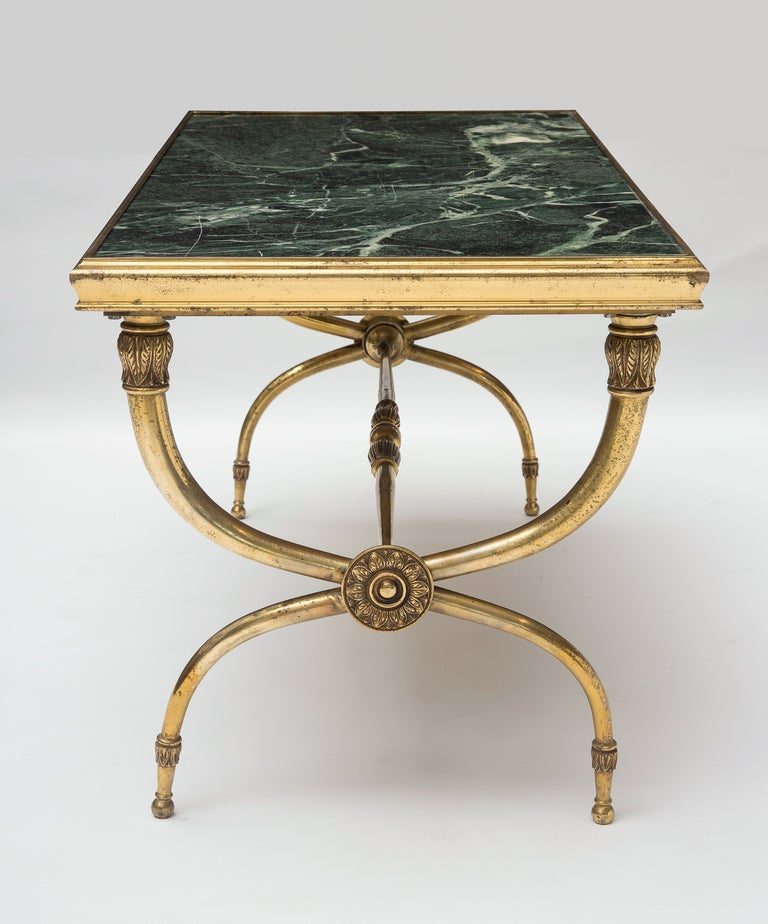 Vintage Marble Coffee Table: Antique French Coffee Table At 1stdibs