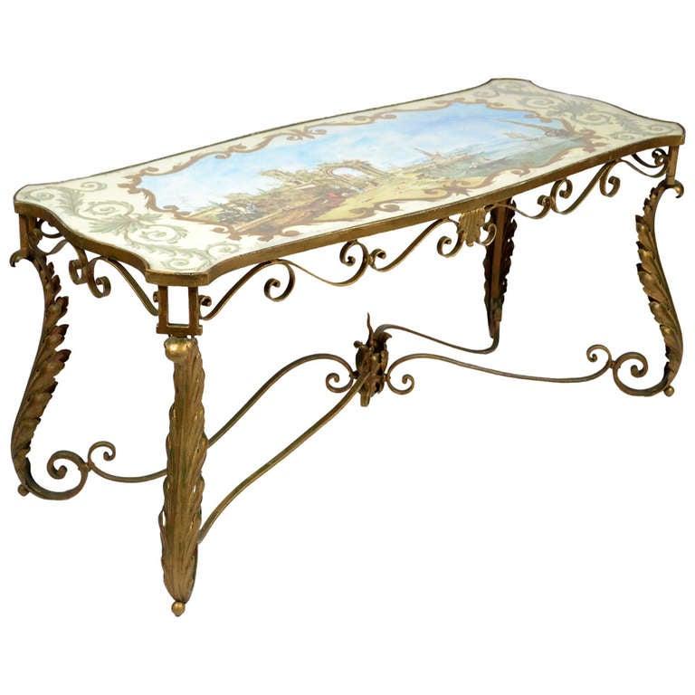 Painted Retro Coffee Table: 1021780_l.jpg