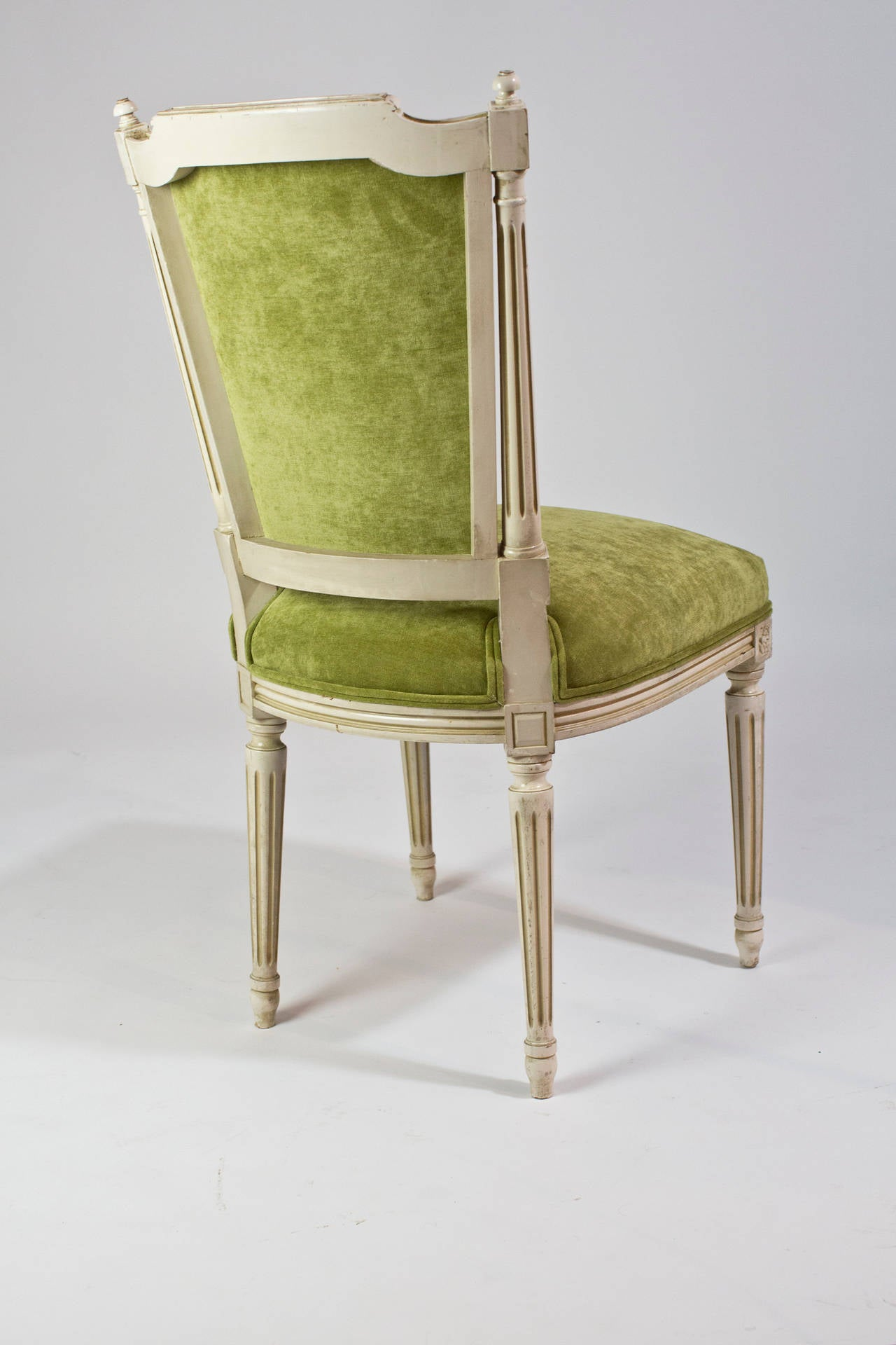 French Antique Louis XVI Set Of Six Dining Chairs At 1stdibs