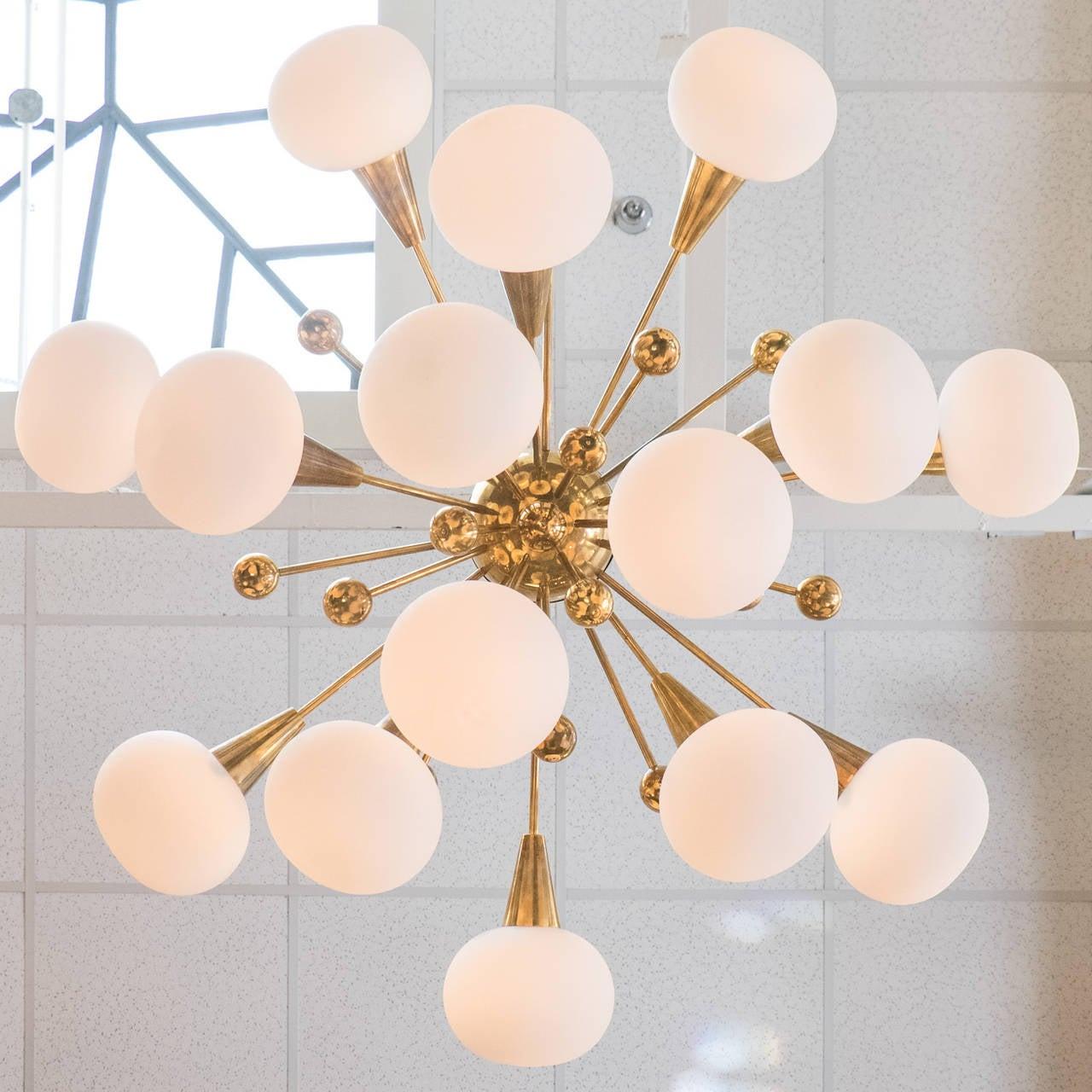 sputnik resources chandelier lights light ceiling product brs brass