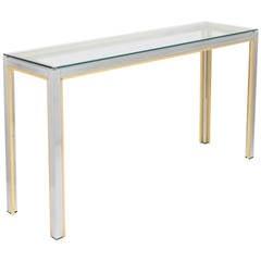 Mid-Century Modern Console Table by Romeo Rega