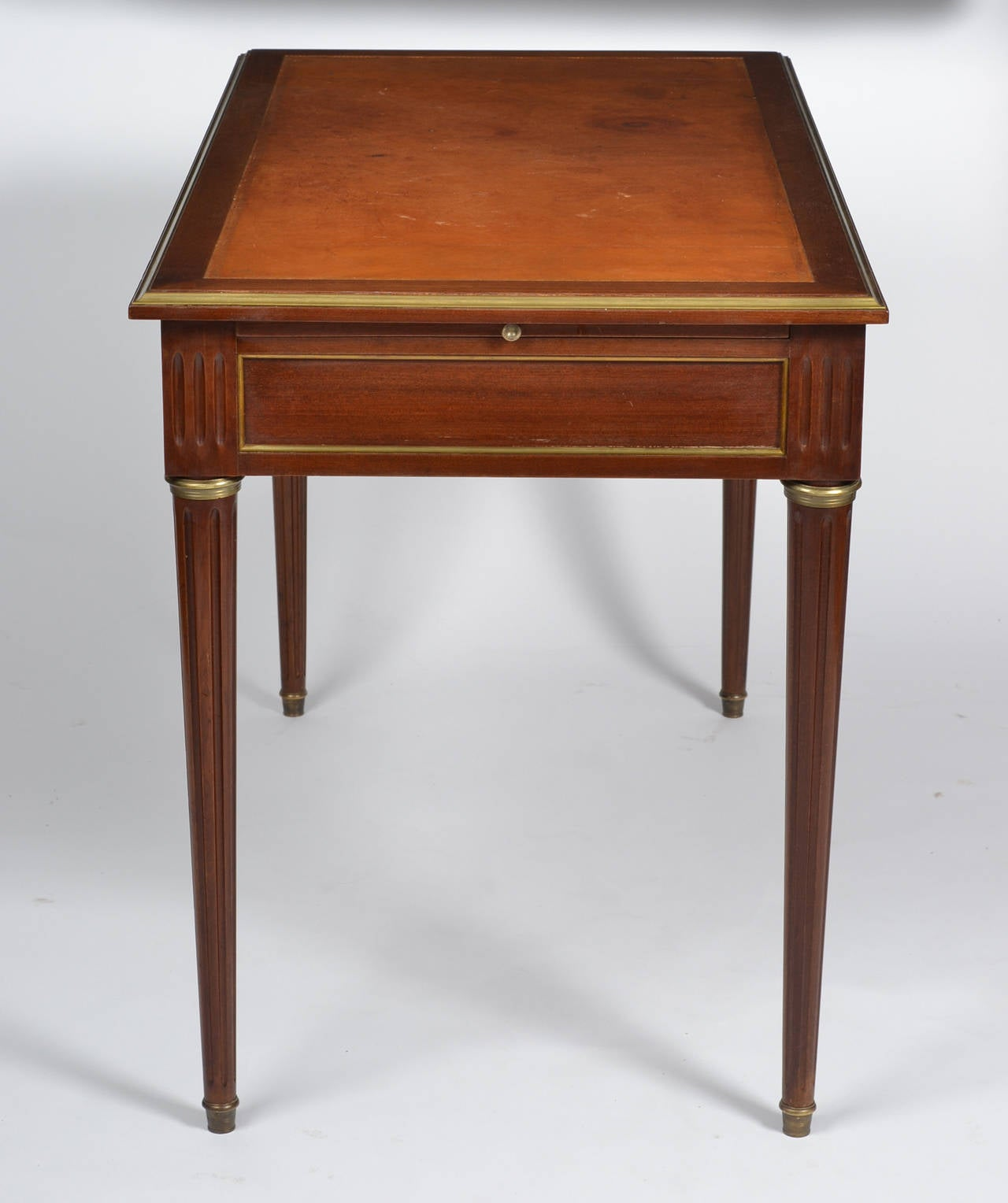 Amazing photo of French Antique Louis XVI Mahogany Writing Desk at 1stdibs with #A95122 color and 1280x1528 pixels