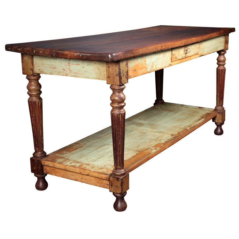 French Antique Walnut and Fir Console Table at 1stdibs : XXX859512996163081 from www.1stdibs.com size 768 x 768 jpeg 56kB