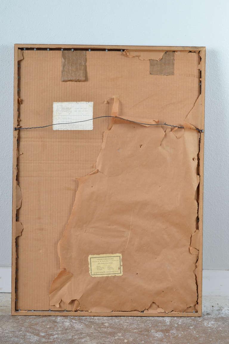 Farrah Fawcett Original Pastel Painting, Signed For Sale 2