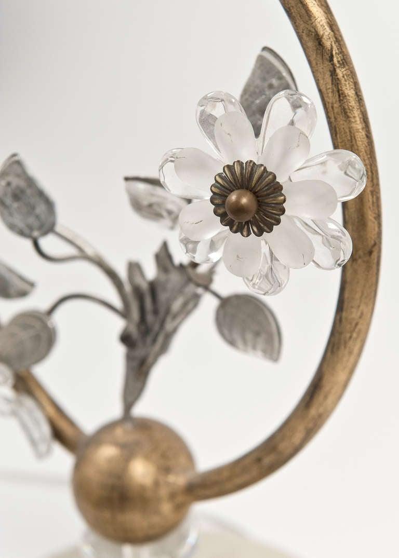 Vintage Bagues Style Brass Floor Lamp At 1stdibs