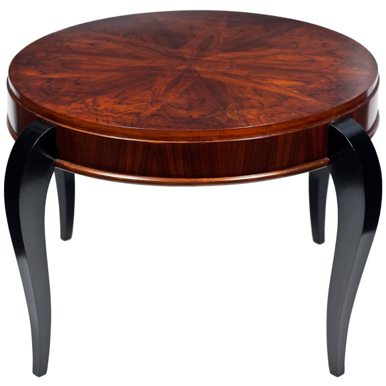 Art Deco Period Mahogany Coffee Table At 1stdibs
