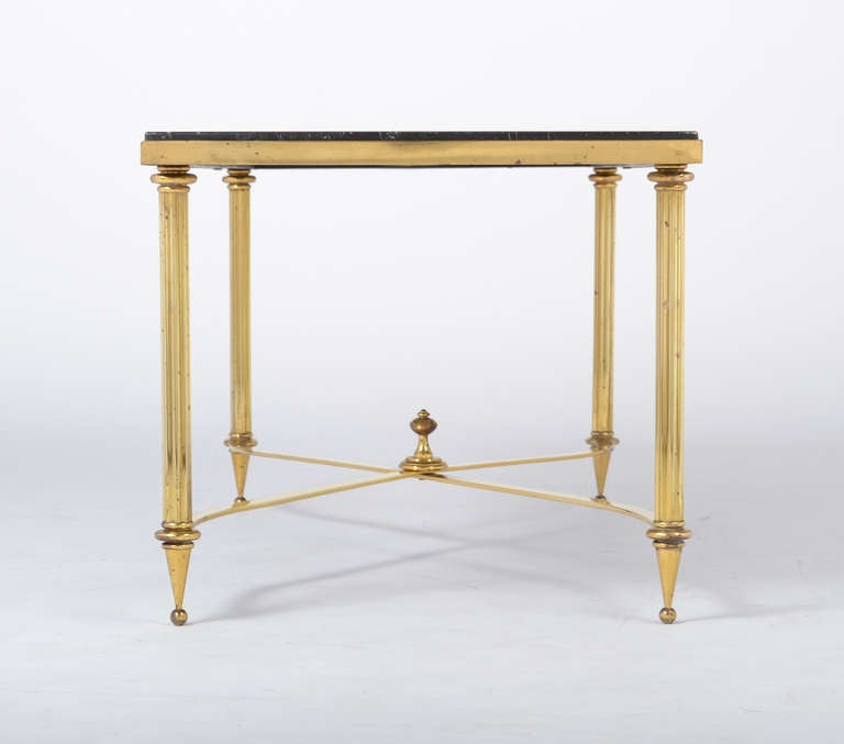 Vintage Marble Top Brass Coffee Table At 1stdibs