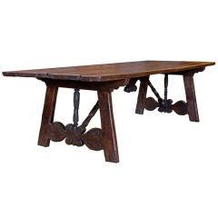 18th Century Portuguese Walnut Table