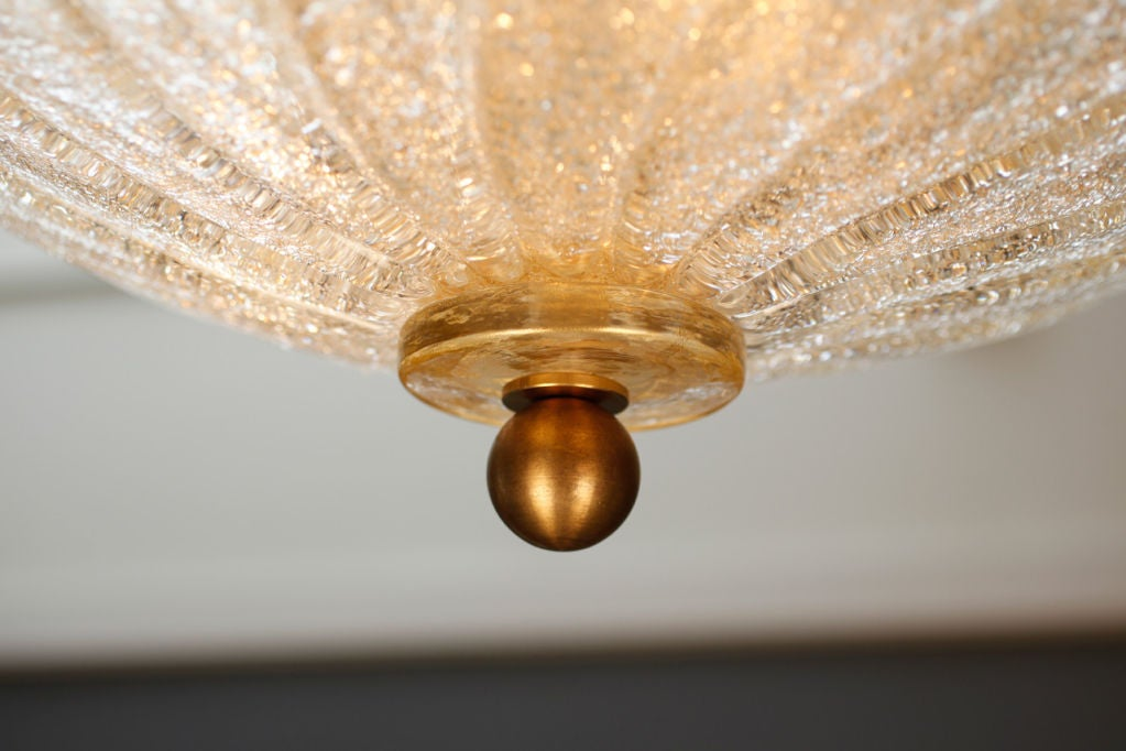 Murano Glass Ceiling Fixture For Sale 3
