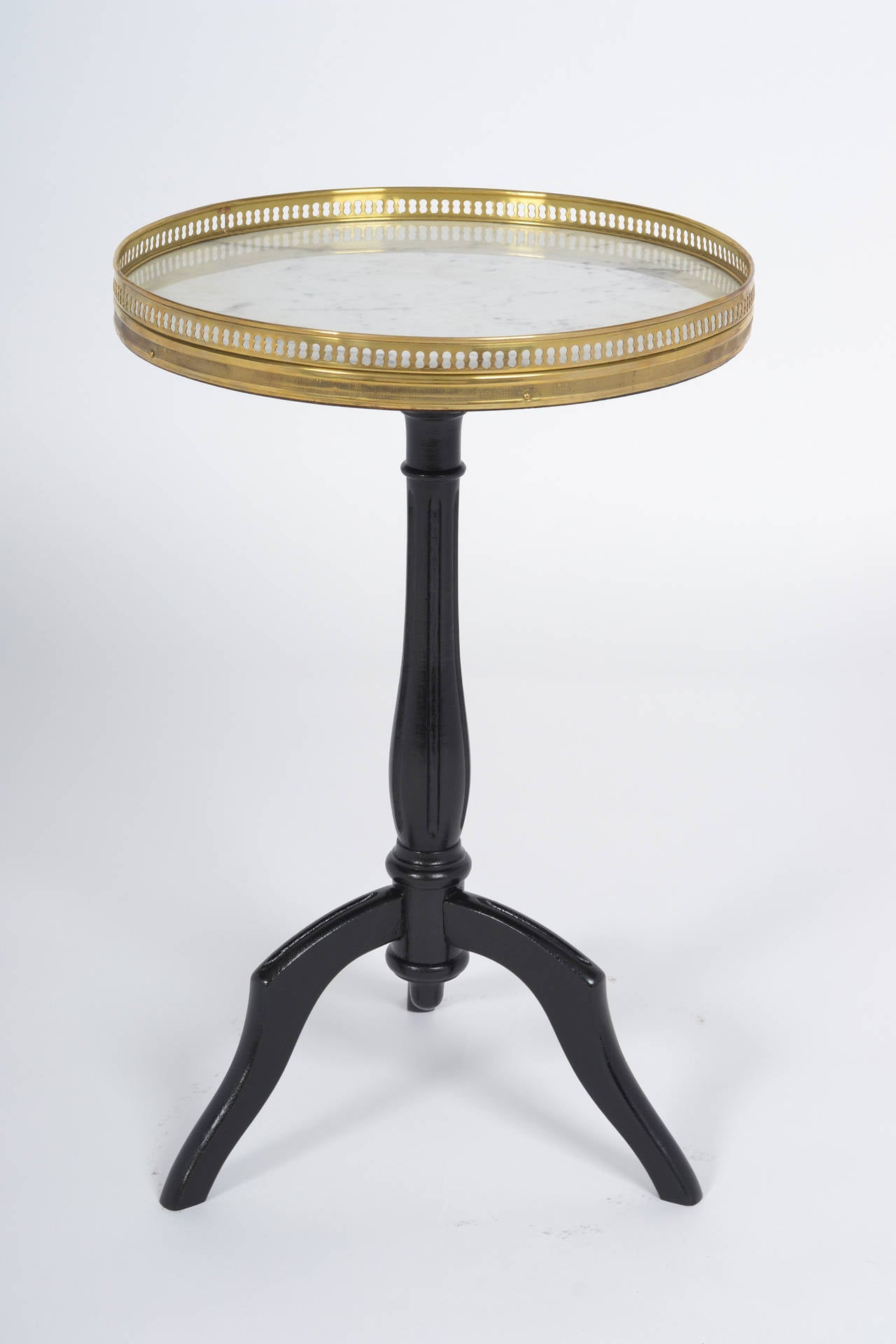 French Louis XVI Tripod Side Table at 1stdibs