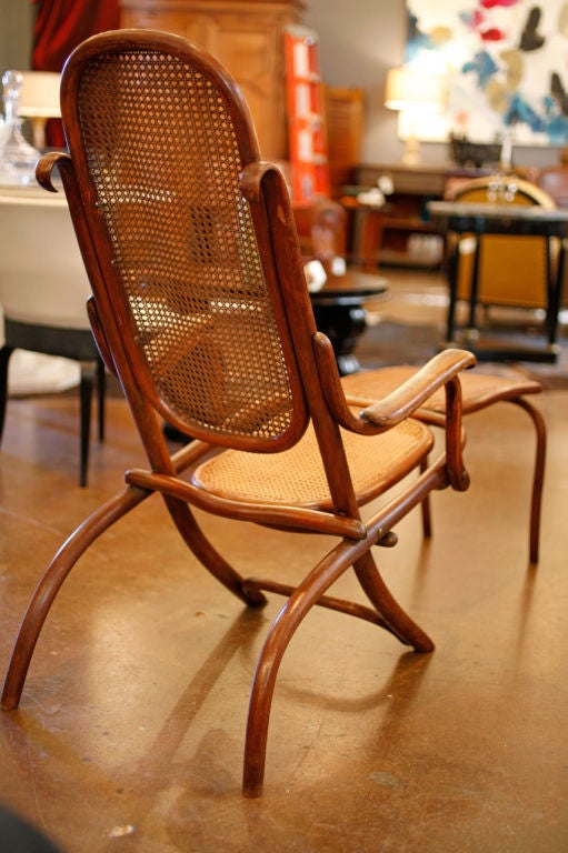 Chaise longue from 1920 french ocean liner at 1stdibs for Chaise 98 edouard francois