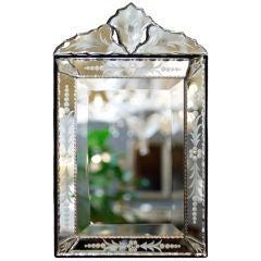 Vintage Venetian Vanity Mirror