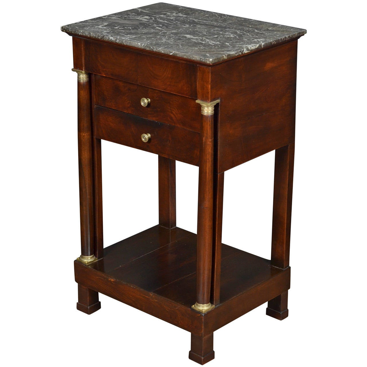 antique french empire period side table at 1stdibs