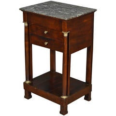Antique French Empire Period Side Table