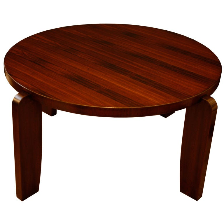 French jean prouve style rosewood coffee table at 1stdibs - Jean prouve coffee table ...
