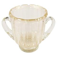 Murano Avventurina Glass Champagne Bucket