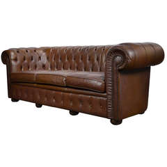 English Vintage Chesterfield Sofa