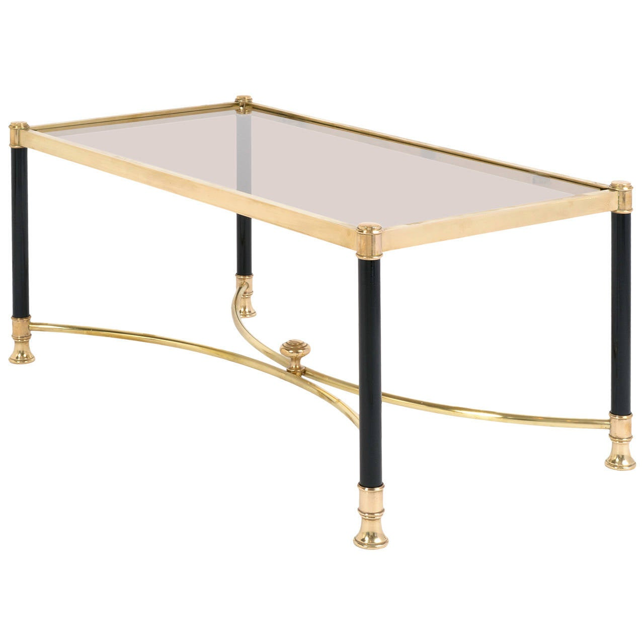French Vintage Coffee Table By Maison Jansen At 1stdibs
