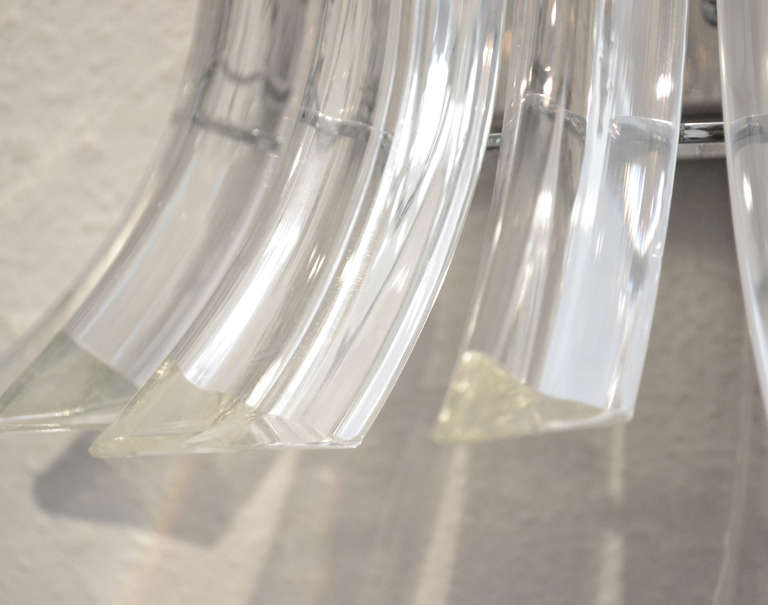 Murano Glass Sconces by Venini For Sale 2