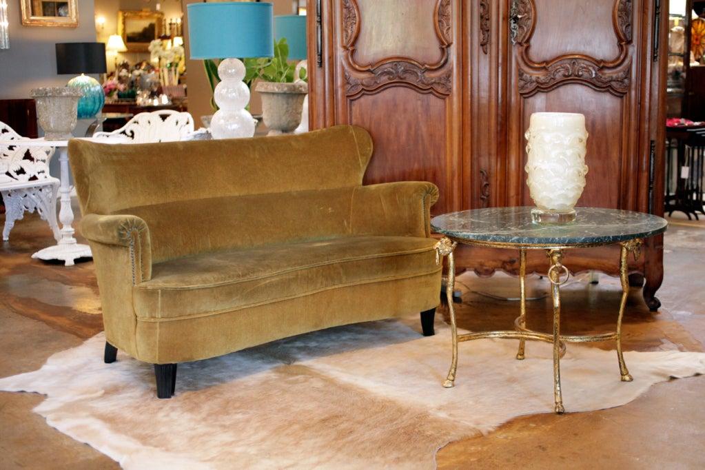 vintage italian zanuso style sofa at 1stdibs
