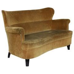 Vintage Italian Zanuso Style Sofa
