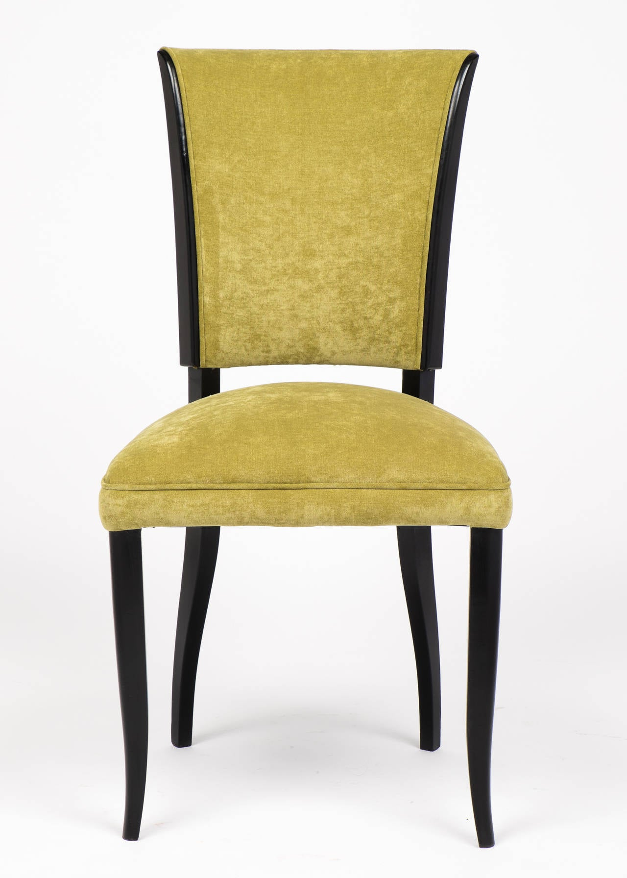 This French Art Deco Set Of Six Dining Chairs Is No Longer Available