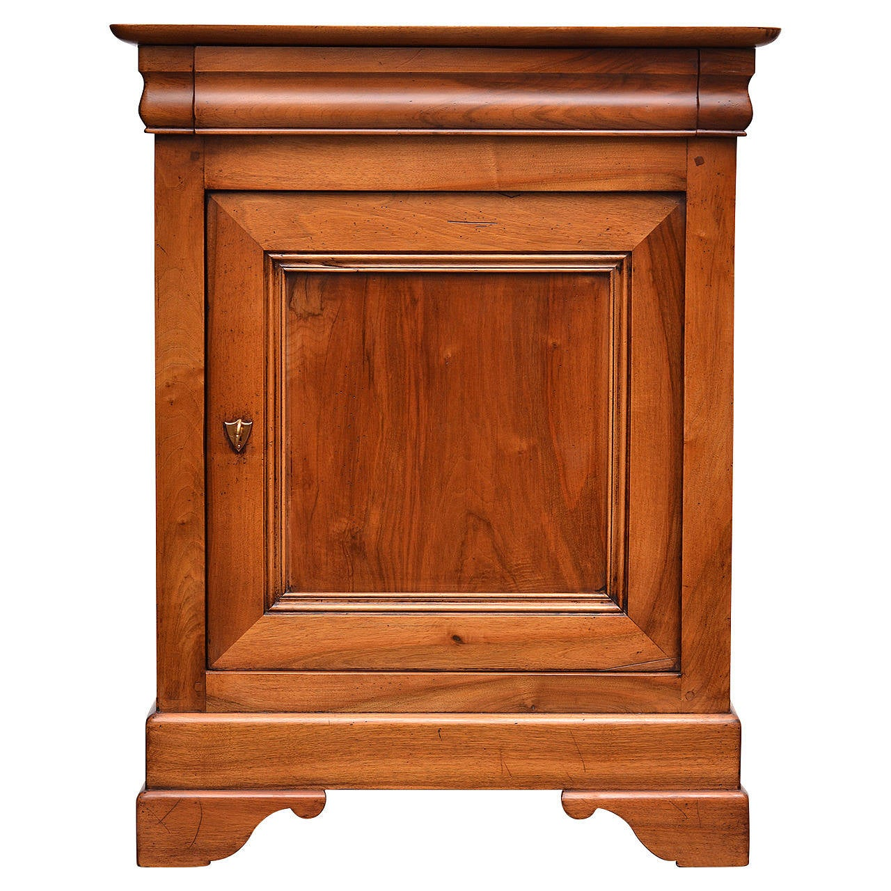 Louis Philippe Solid Walnut Quot Confiturier Quot Cabinet At 1stdibs