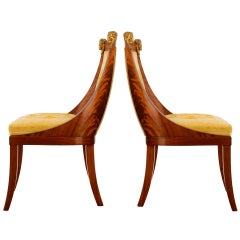 Set of 19th Century Baltic Side Chairs