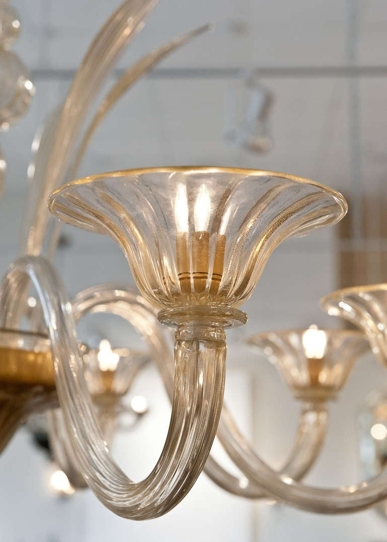 Gold Leaf Murano Glass
