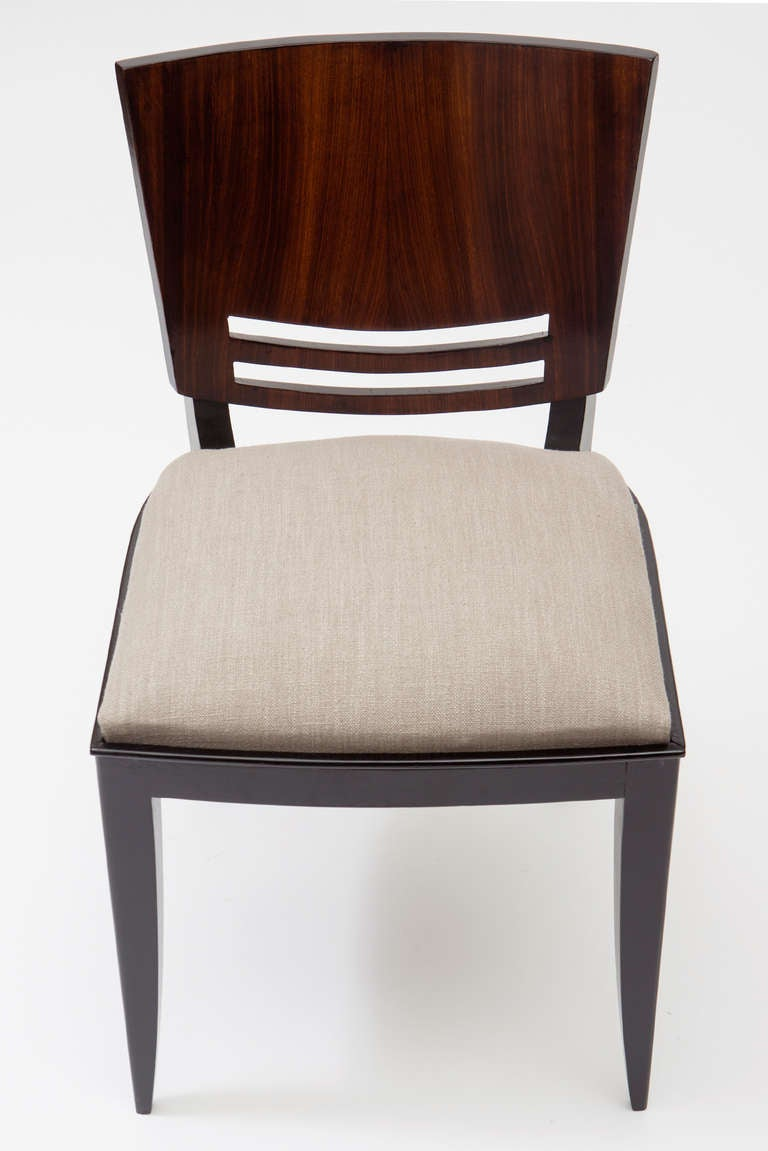 Stunning French Art Deco Dining Chairs At 1stdibs