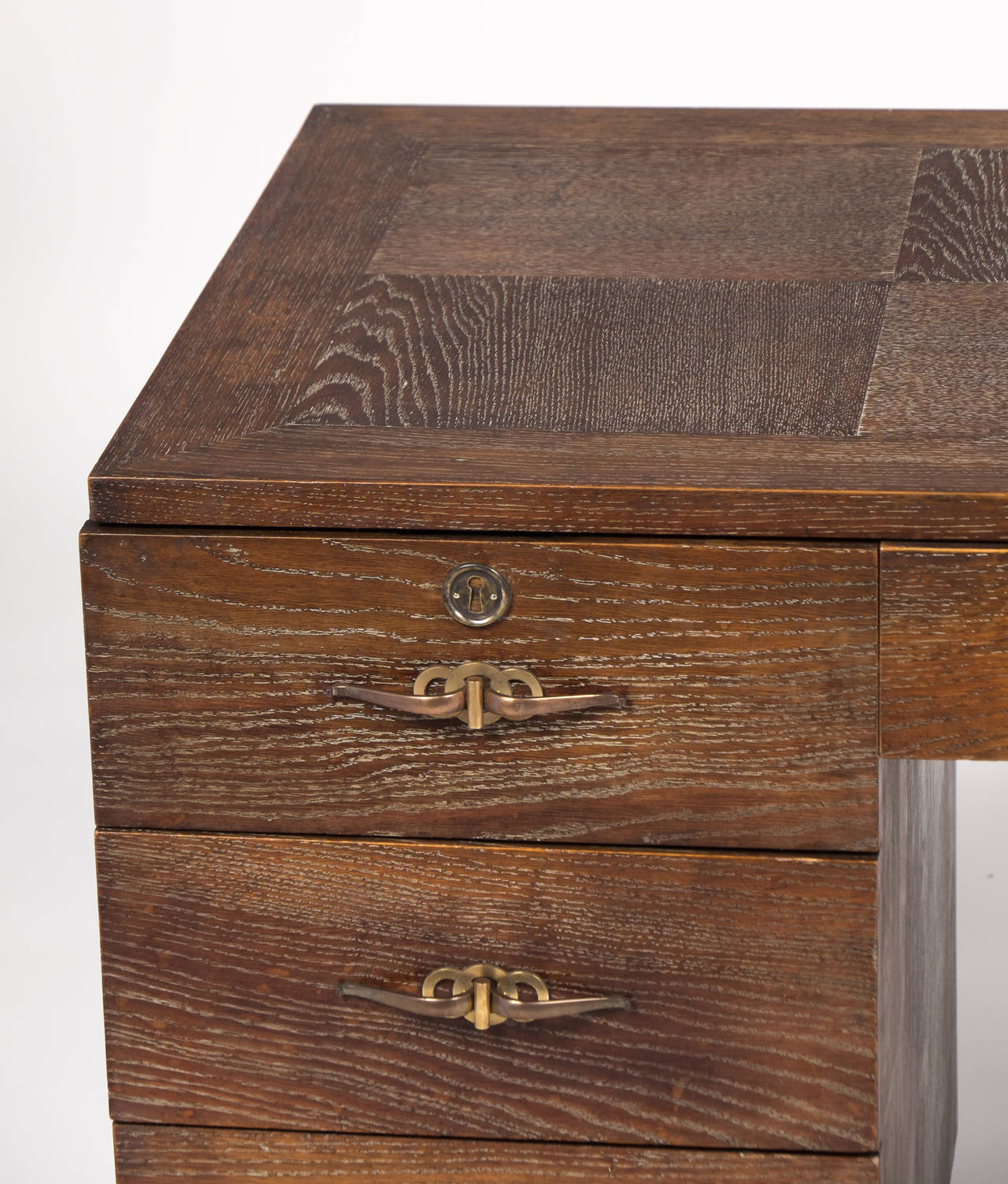 French art deco period arbus style desk at 1stdibs for Art deco period