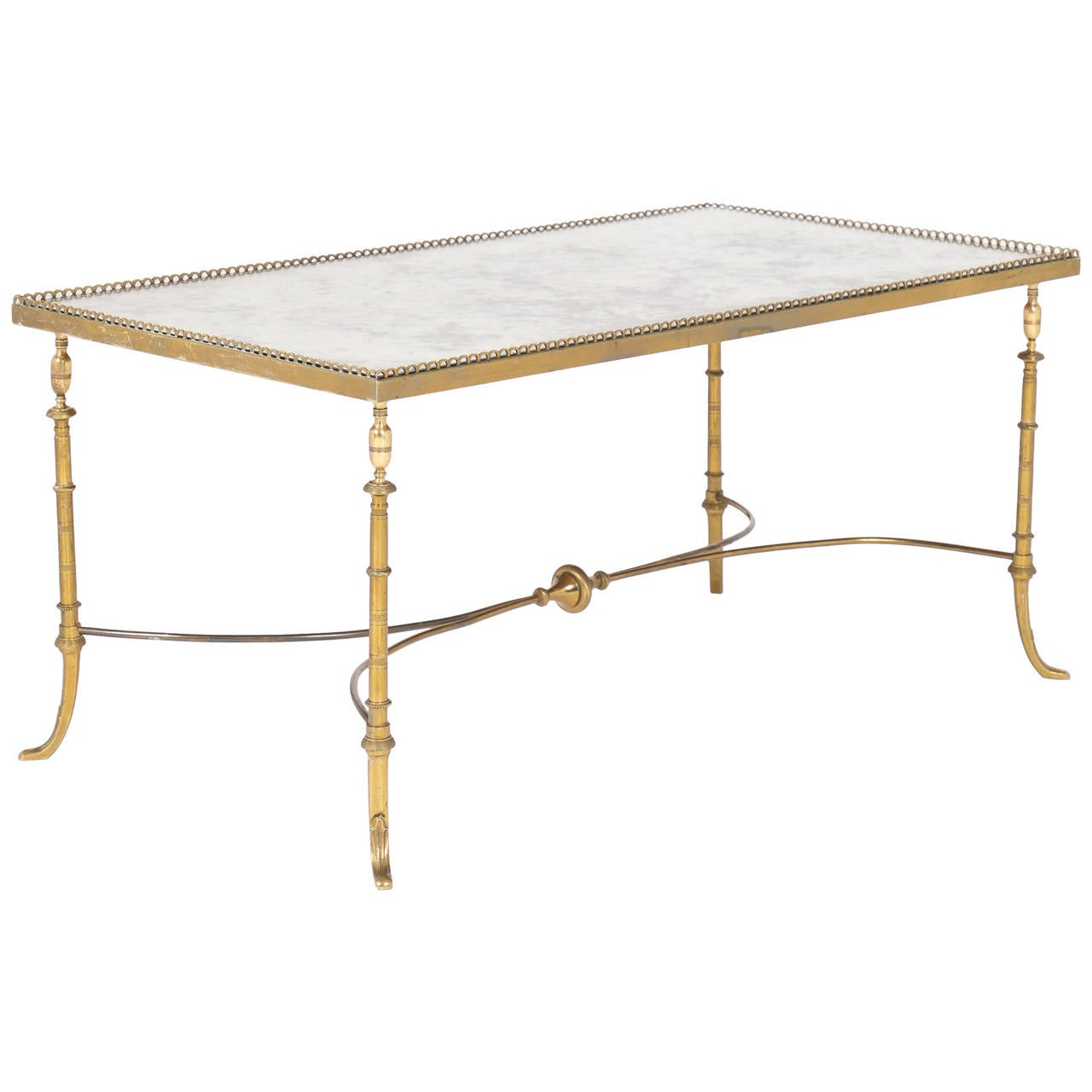 French Maison Jansen Coffee Table At 1stdibs