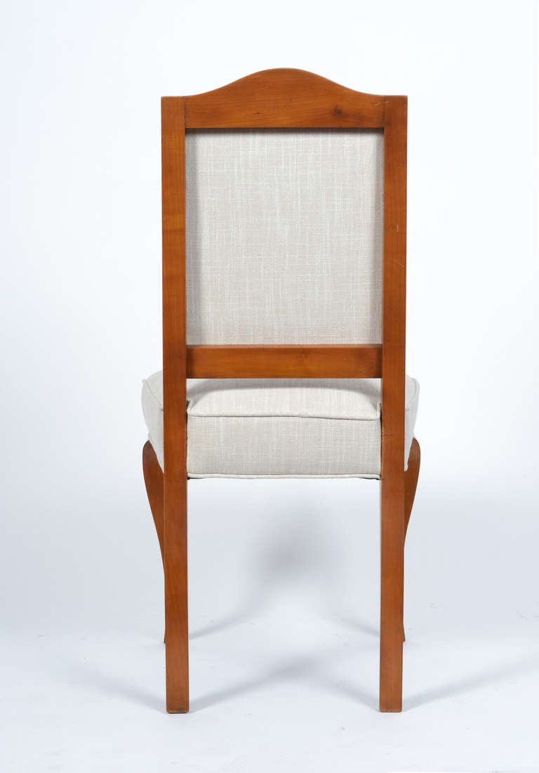 French Side Chairs By Maison Jansen For Sale At 1stdibs