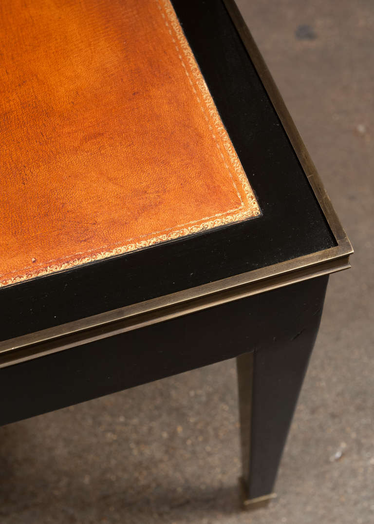 this french directoire leather top coffee table is no longer available