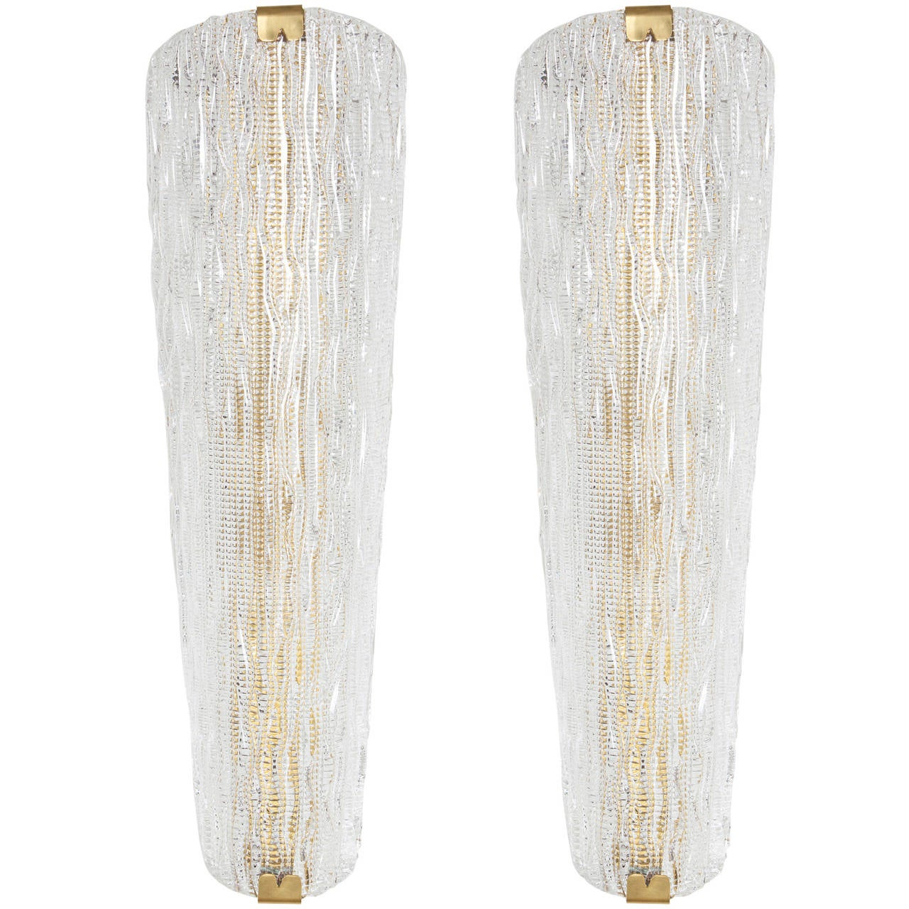 Murano Gl Wall Sconces By Barovier For